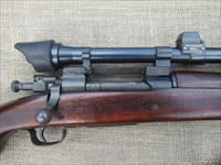 REMINGTON MODEL 1903AS SNIPER RIFLE WWII