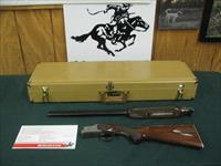 6879 Winchester 101 Pigeon 20 gauge 27 inch barrels, skeet, coin silver rose scroll engraved receiver, ejectors, pistol grip, Winchester butt plate, Winchester case, Winchester Pamphlet, 98% condition from West Texas collection. opens/close