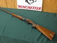 6376 Winchester 101 Field 410 gauge 28inch barrels, skeet/skeet, 2.5 chambers,pistol grip with cap, Winchester butt plate, all original, ejectors, vent rib, 99% condition, with TIGER STRIPED WALNUT FIGURE. OPENS AND CLOSES TITE, BORES BRITE