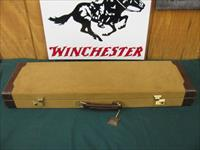 6086 Winchester Model 23 Golden Quail 410 gauge, 26 barrels, ic/m, straight grip, win pad, all original, coin silver quail/dogs,game scene engraved coin silver receiver, auto ejector, single select trigger,all original in Correct Winchester