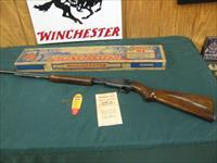 7210 Winchester 61 22 caliber, short, long,long rifle, steel butt plate 1951 mfg. Correct box, hang tag, Brochure, 97-98% condition.very excellent condition, Box Excellent. with cardboard innards.