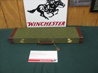 6858 Winchester 23 Pigeon XTR 20 gauge 28 inch barrels mod/full, beavertail, vent rib round knob ejectors, coins silver rose and scroll engraved receiver,Winchester pad, Winchester case Winchester Pamphlet. 99% condition, as new, from west