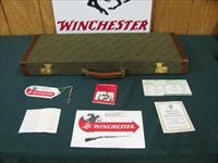 6100 Winchester 23 Pigeon XTR 12 gauge 26 inch barrels,ic/mod,vent rib, ejectors, single select trigger, round knob, Winchester butt plate,98-99% condition, all original, hang tag and papers, correct Winchester case.