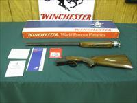 6937 Winchester 101 Field 410 gauge 28 inch barrels, skeet/skeet,NEW IN BOX,ejectors, pistol grip with cap, all original, Winchester butt plate, papers, pamphlets, instruction sheet, warranty card,Winchester box is serialized to the gun, no