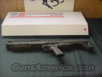 4584 Kel Tec KSG tactical shotgun GREEN NEW IN BOX