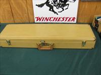 6167 Winchester case for model 101 or 23 or other shotguns, will take 32 inch barrels. this is the original old one 1971-1987.brass Winchester plaque on inside.