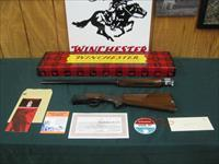6933 Winchester 101 field 28 gauge, 28inch barrels,mod/full, Winchester butt plate, single front brass bead, mfg 1969,PRISTINE,NOT A MARK ON IT. hang tag/all papers,pristine box/innards, never assembled,best one i have ever had,probably the