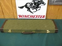 6103 Winchester 101 Pigeon XTR Lightweight 12 gauge 27 inch barrels, 7 winchokes, 2sk,ic,m,im,f,xf & wrench,correct winchester case,pheasant and quail engraved coin silver receiver,all original, 99% condition.vent rib ejectors, round knob.