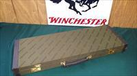 4654  Winchester Green hard case with leather sides