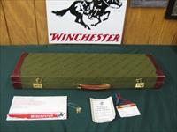 6371 Winchester 23 LIGHT DUCK 20 gauge 28 inch barrels, mod/full, 3 inch chambers, solid rib, ejectors, pistol grip with cap, Winchester butt pad, LIGHT DUCK on bottom of receiver,AA++FANCY WALNUT IN STOCK AND FOREND, papers and hang tag an