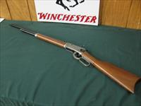 6602 Winchester 1894 Canadian Pacific Railroad 24 inch barrel, 32 Winchester special, #1169 in 99% condition, never fired, no box, Pewter colored receiver with steam engine over bridge trussell,CPR shield/logo also engraved, 99% condition,