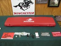 7074 Winchester Select Shotgun case, 12 gauge, full screw in choke, wrench, weights and allen wrench, all papers. New.