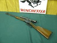 6066 Winchester 9422M 22 Mag Deluxe rifle with WEAVER 4X SCOPE