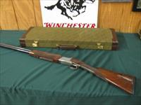 6402 Winchester 101 QUAIL SPECIAL 20 gauge 3 inch chambers, 25 inch barrel, STRAIGHT GRIP, all original, quail/dogs engraved on coin silver receiver, Winchester butt pad, vent rib, 2 Winchester screw chokes mod/ic, more for $35 ea.AAA++FANC