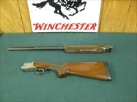 7008 Winchester 101 Diamond Grade 410 gauge 27 barrels, skeet, all original, 99.9% condition, NOT A MARK  ON IT. Winchester pad, vent rib ejectors, coin silver receiver with engraved diamond pattern.opens closes tite,seldom shot, bores are
