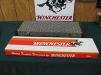 6113 Winchester 101 Diamond Grade 410 gauge 28 inch barrels SKEET/SKEET, 2 1/2 chambers. AS NEW IN WINCHESTER CASE AND CORRECT SERIALIZED BOX. TIGER STRIPED AA FANCY WALNUT. BEST I HAVE SEEN. TIME CAPSULE SURVIVOR,NONE FINER DONT MISS THIS