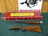 6258 Winchester 101 Field 410 gauge 26 inch barrels 2 1/2 & 3inch chambers,vent rib, ejectors, pistol grip,--RARE-- Winchester butt plate.ALL ORIGINAL AND NEVER SHOT NONE FINER CORRECT SERIALIZED BOX TIME CAPSULE SURVIVOR,BEST ONE I HAVE EV