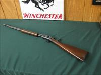 6390 Winchester 62A 22 short long long rifle, all original condition, excellent conditon,Marbles tang site, original Winchester butt plate, operates tite, bores are excellent. s/n13626x. pre war mfg 1941-1942.