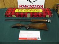 6217 Winchester 101 Field 28 gauge 28 inch barrels skeet/skeet vent rib, pistol grip,Winchester butt plate, Winchester pamphlet, correct Winchester box serialized to gun. NEVER SHOT--UNFIRED--100% CONDITION NONE FINER.rare