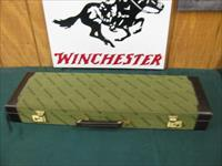 6084 Winchester 101 Quail Special case, with key, as new at 99%, will take any gauge and 26 inch barrels, only 500 mfg 1984-87