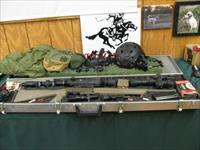 5948 Winchester SX-AR TEXAS HOG SET UP 308cal NIght Vision scope, Leupold day scope,binos, mono,,infrared,helmount flashlites mags etc aluminum cased