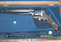 CASED WEBLEY OPEN FRAME MODEL 1865