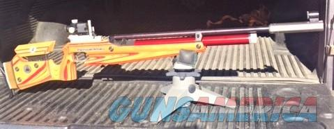 FWB P70 Jr  with ESP Buttstock ext/weight, and hand pump