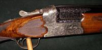 JOS DEFOURNY IMPERIAL CROWN GRADE SCALLOPED BOXLOCK 12GA SHOTGUN