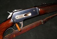 WINCHESTER PRE WAR 1936 MODEL 71 348 CAL LEVER ACTION RIFLE