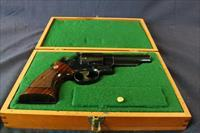 "Cased Smith & Wesson 4"" Model 57 .41 Magnum"