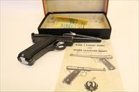 1956 Ruger Mark 1 with box, papers and original receipt