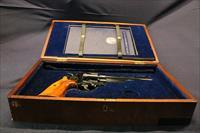Smith & Wesson 25-3 125th Anniversary .45 Colt presentation case and book