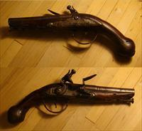Italian Pocket Flintlock Pistol c1760