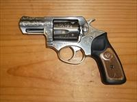 Ruger SP101 Engraved