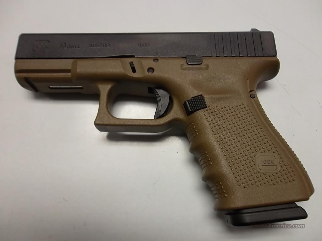 Glock 19 Gen 4 FDE for sale