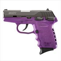 SCCY CPX-1 9MM MATTE / PURPLE 10 +1 CAPACITY NEW IN BOX