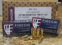 FIOCCHI SHOOTING DYNAMICS 357 MAGNUM 142 GRS FMJ 1000 ROUND CASE