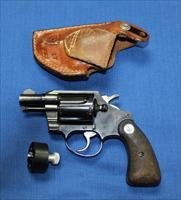 COLT DETECTIVE SPECIAL 2ND SERIES 38 SPECIAL SUPER CONDITION