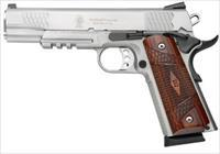 "SMITH & WESSON SW1911TA 5"" 8+1 CAPACITY WITH RAIL NEW IN BOX"