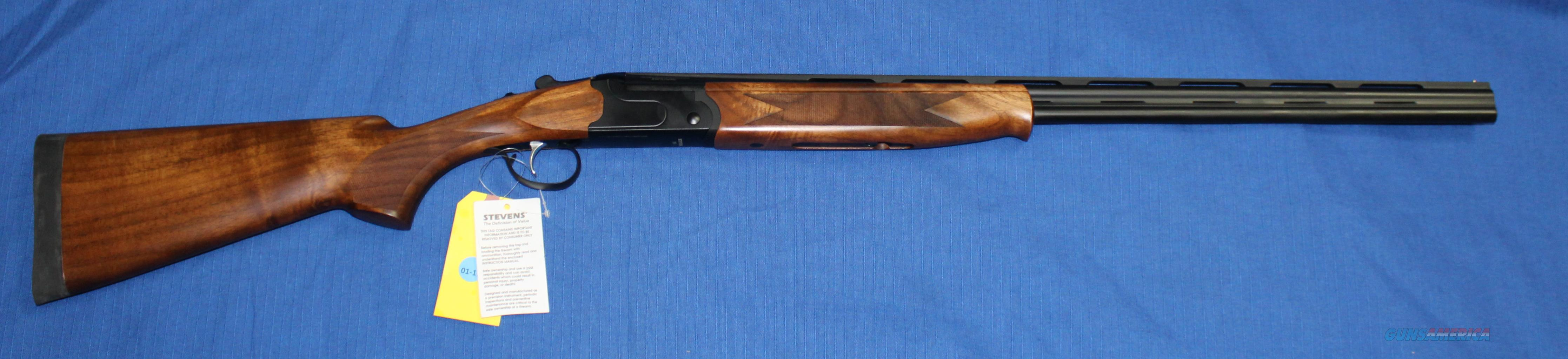 SAVAGE 555 410 GAUGE OVER/UNDER FIVE CHOKE TUBES BLUED WITH TURKISH  CHECKERED WALNUT NEW IN BOX