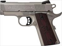COLT 1911 DEFENDER 45 ACP 3 INCH STAINLESS NEW IN THE BOX