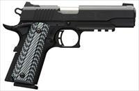 BROWNING BLACK LABEL 1911-380 PRO WITH RAIL AND NIGHT SIGHTS