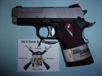 Sig Sauer 1911 (1911U-45-TSS) w/Night Sights & 2 Mags