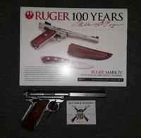 Ruger Mark IV Competition 100 Year Anniversary (40108)