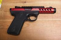 22/45 Lite w/threaded red anodized bbl.