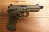 FNX 45 Tactical w/3 15 rd mags, all fde finish