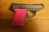 CA-380 w/chrome finish, pink grips
