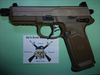 FNH FNX-45 Tactical w/FDE Finish & Night Sights