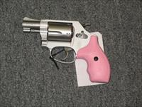 637-2   Stainless color w/pink rubber grips and black rubber grips