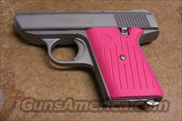 CA-380 satin with pink grips